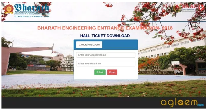 BEEE 2019 Admit Card