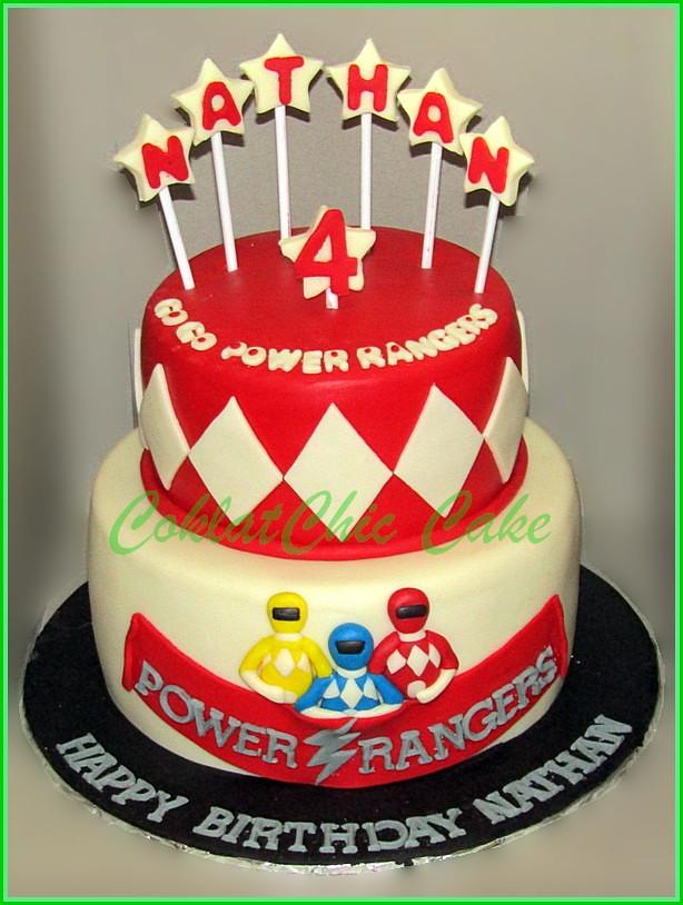 Cake Power Rangers Nathan 18 Dan 12 Cm Niken Idh Flickr