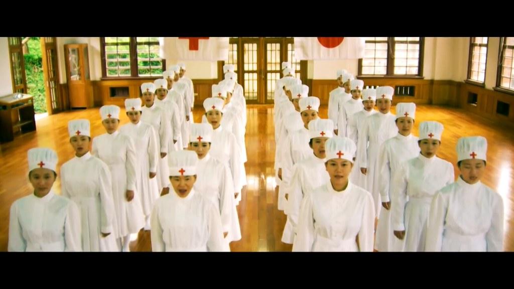 《智子之心》描述自願參加日軍看護婦的台灣女性的故事。(圖片截自《智子之心》片花)