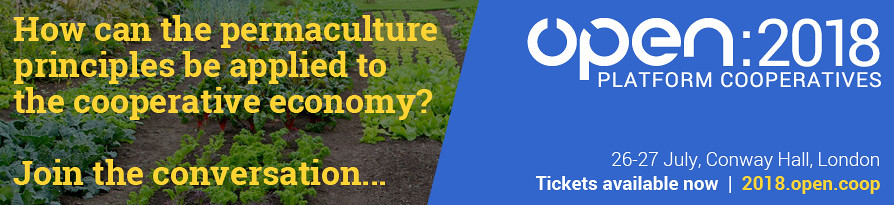 How can the permaculture principles be applied to the cooperative economy? Join the conversation...