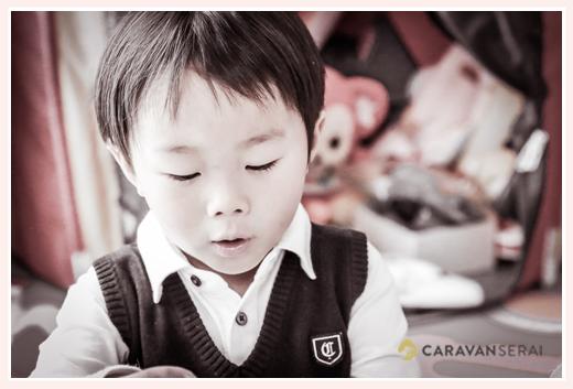 プロカメラマンが撮る幼稚園入園記念の家族の写真♪ご自宅(愛知県瀬戸市)へ出張撮影