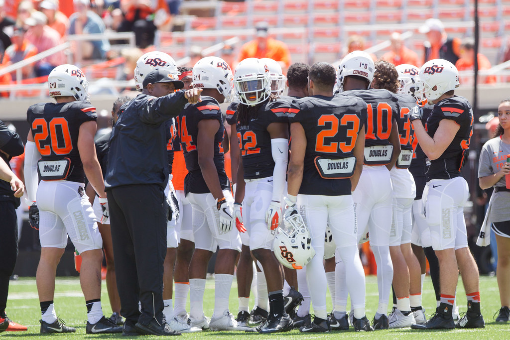 Image Taken At The Oklahoma State Cowboys Spring Football Flickr