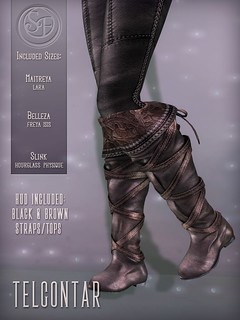 Senzafine . Telcontar Boots Poster | by Senzafine & Astrae
