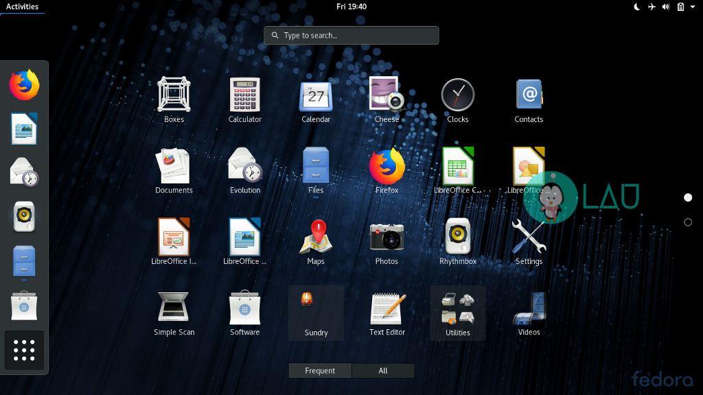 Aquí está lo nuevo en Fedora 28 aeb33c40357