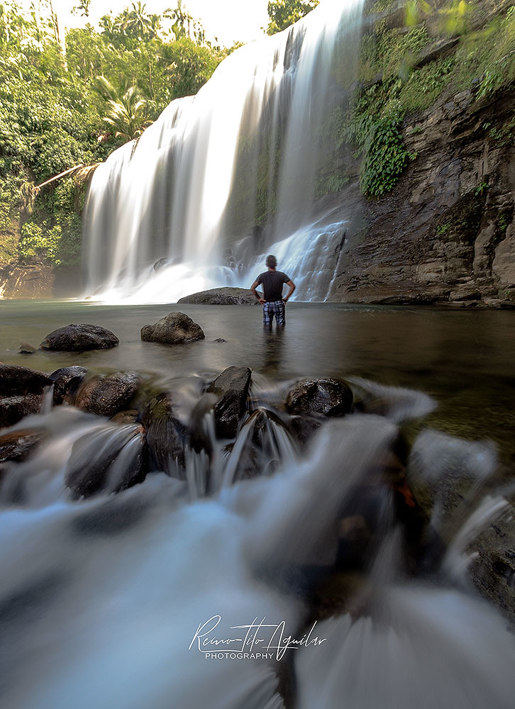 Campawan Curtain Falls