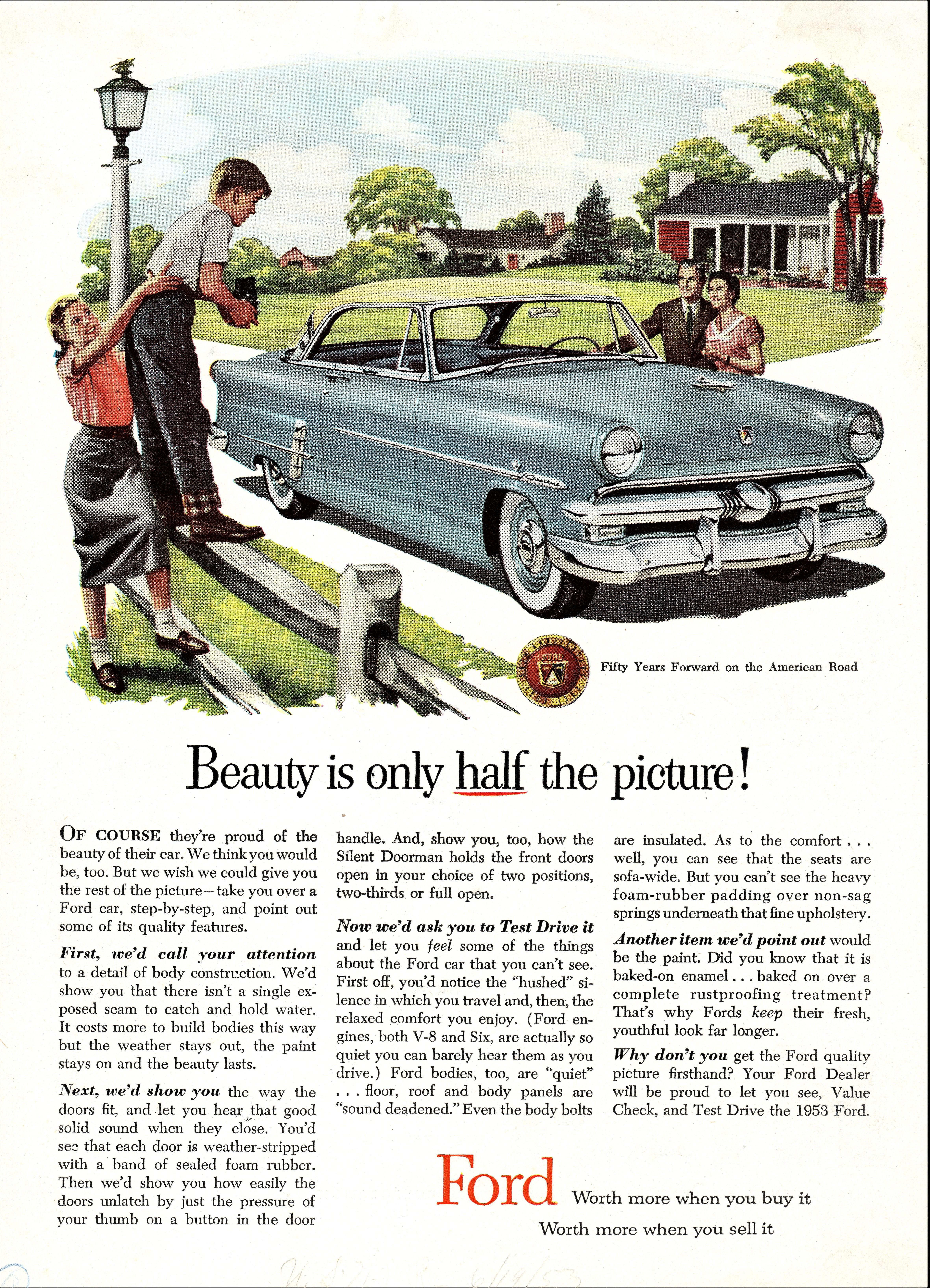 1953 Ford Crestline Victoria Hardtop
