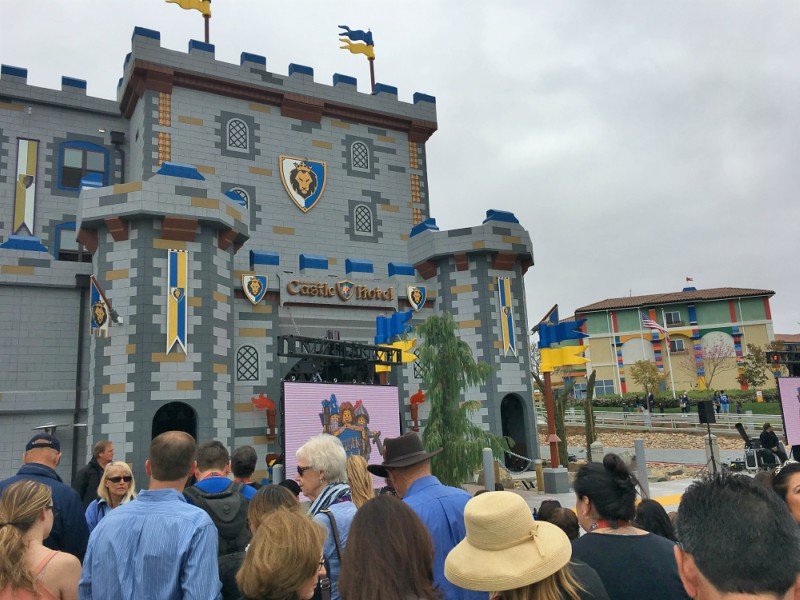 Opening LEGOLAND California Castle Hotel