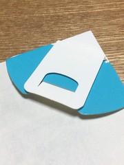 三角紙クリップ DELP