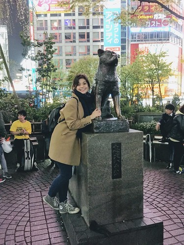 Hachiko and I | by thingsnomadsdo