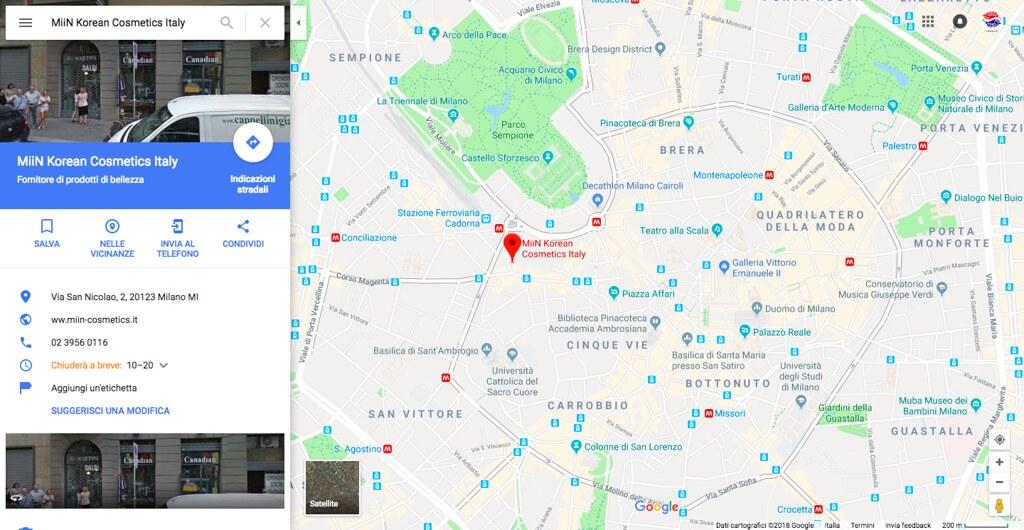 Miin Korean Cosmetics Italy Google Maps Mugunghwa Dream Flickr