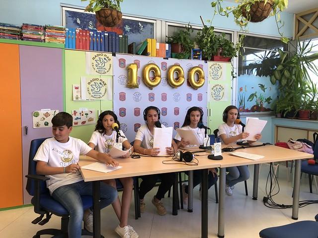 AionSur 42088292532_fae5b0e7fa_z_d La escuela del Virgen del Rocío acoge el programa 1.000 de Radio Paz Educación