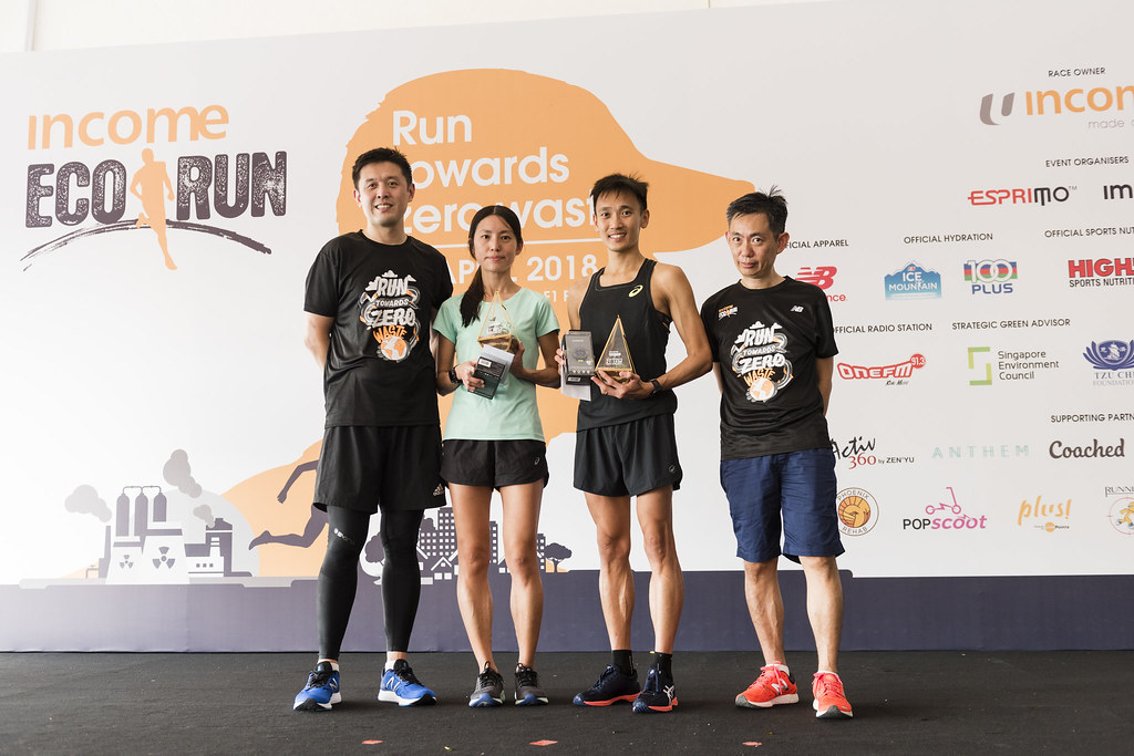 I completed my first half marathon at the Income Eco Run 2018 and it's a meaningful one - Alvinology