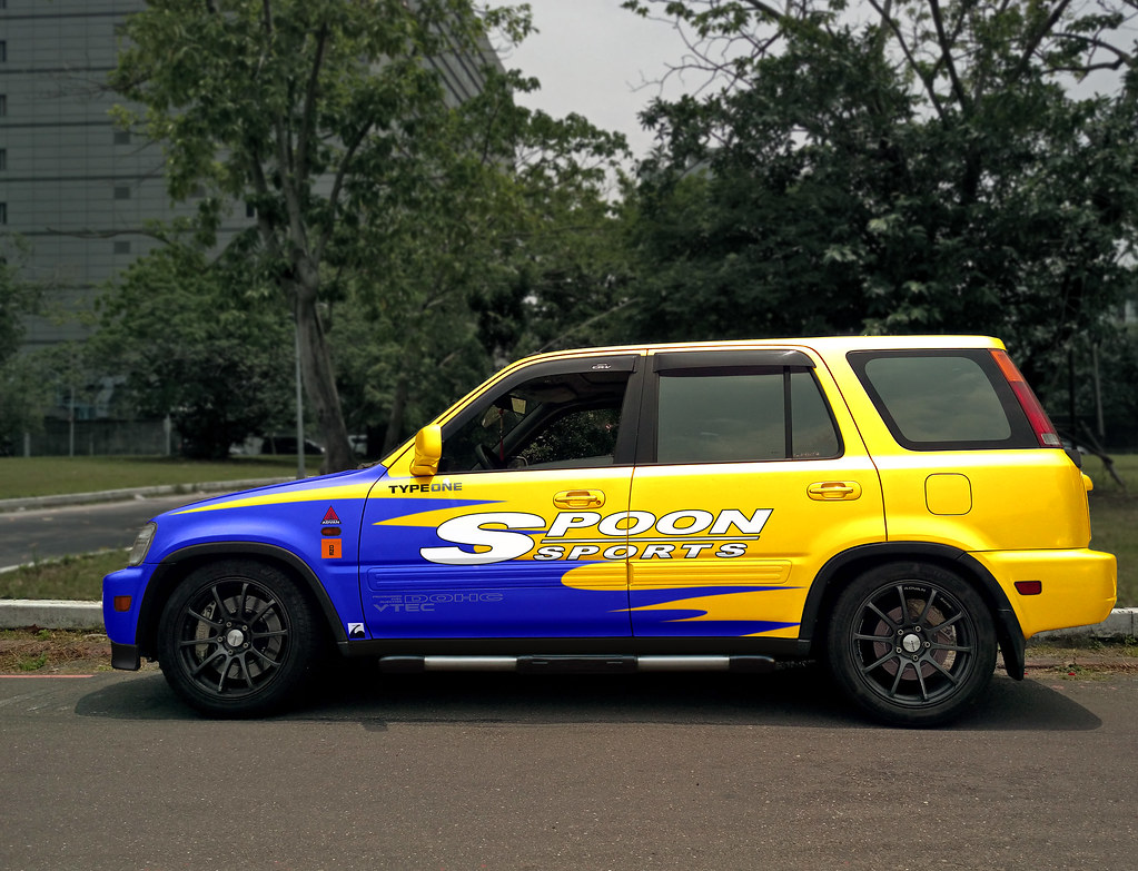 Fed Up >> spoon sport style Honda crv rd1 | w_water | Flickr