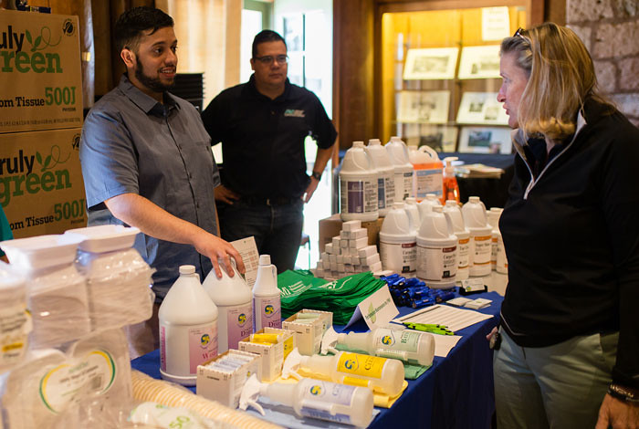Laboratory Sustainability Fair showcases green small businesses