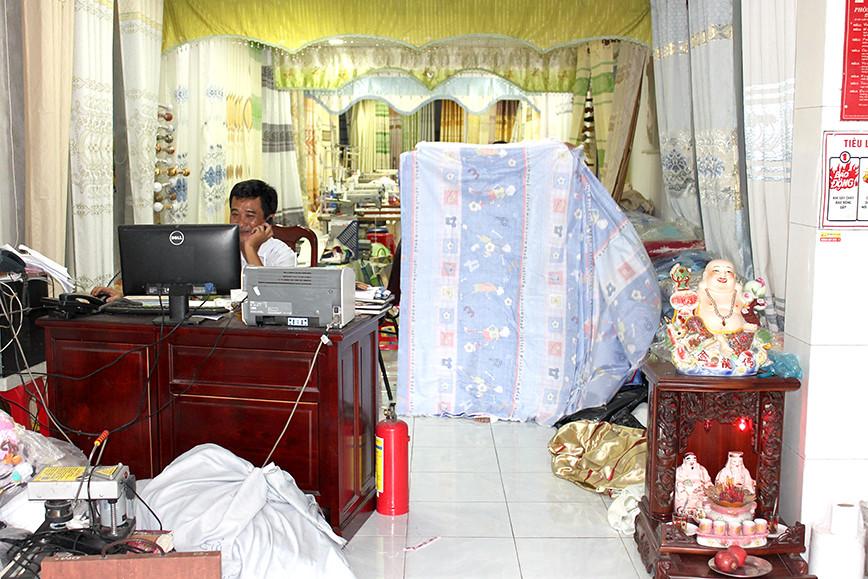Màn cửa rèm cửa Cần Thơ - Kim Xuân