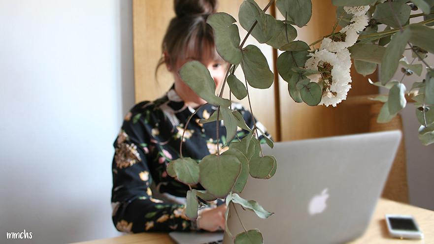trabajar desde casa con el ordenador