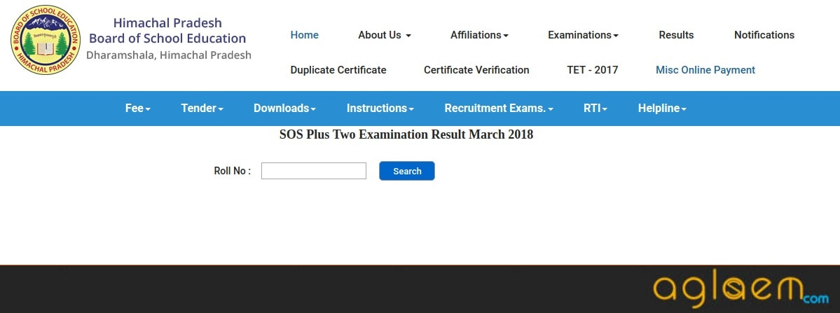 HP SOS 12th Result 2018 Declared | Plus Two Result - Check