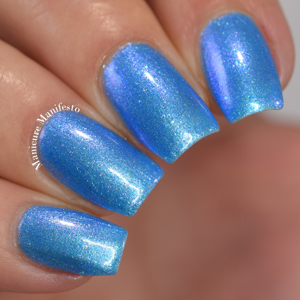 Paint It Pretty Polish Blue Me Away At IEC review
