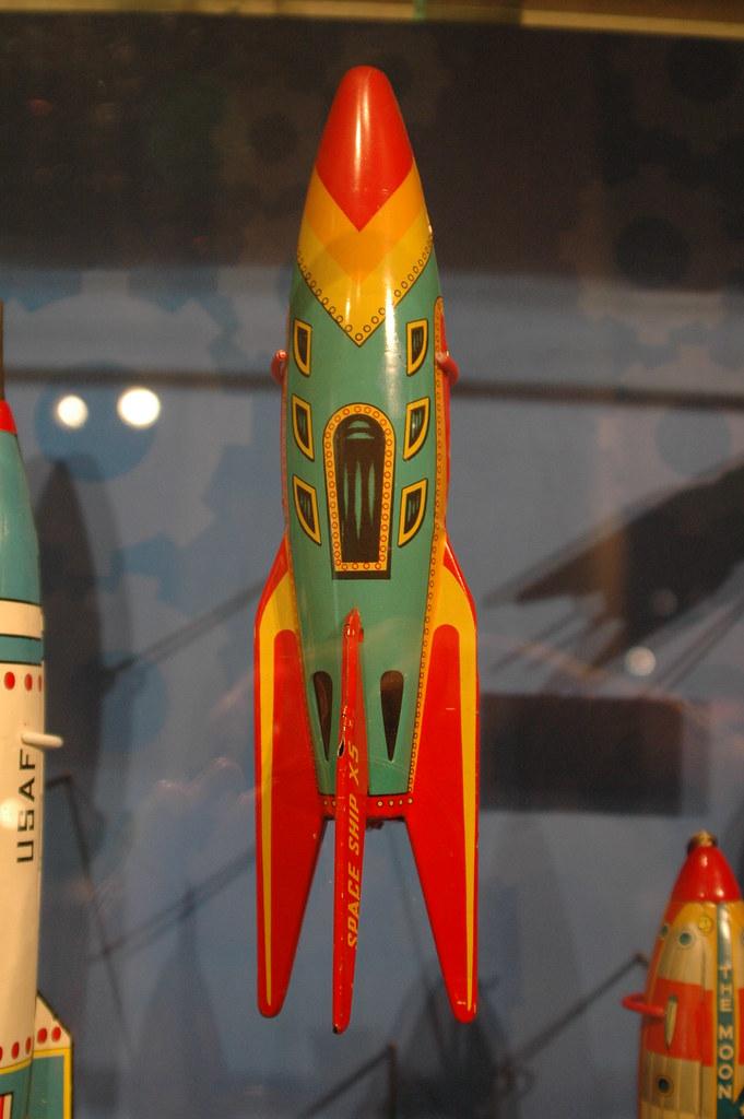 Vintage Toy Rocket 78