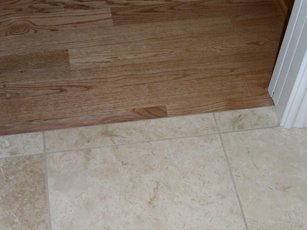 Oak Hardwood Floor Next To Tile Solid Hardwood Floor