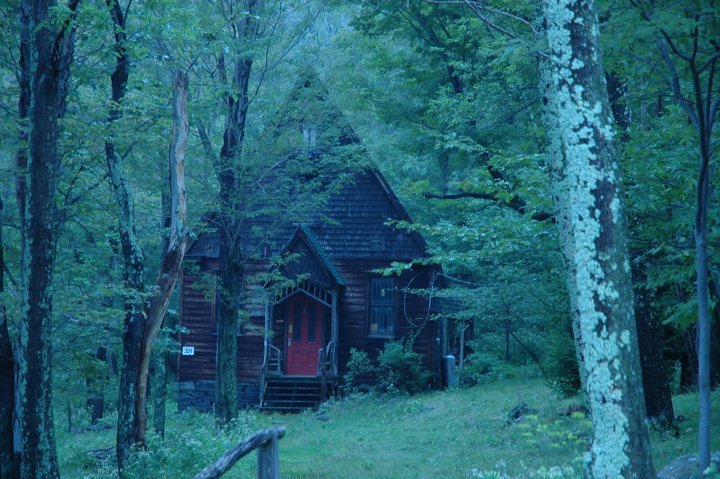 Creepy house in the woods in the mountains creepy house wi flickr - The house in the woods ...