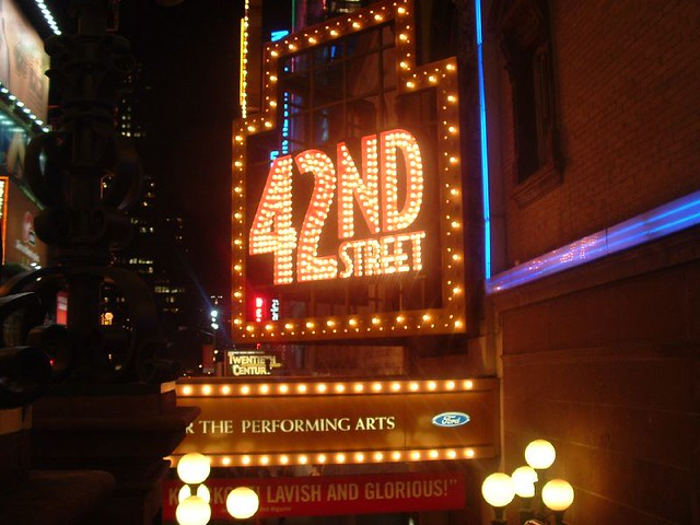 New York - 42nd Street Sign | Araceli Arroyo | Flickr