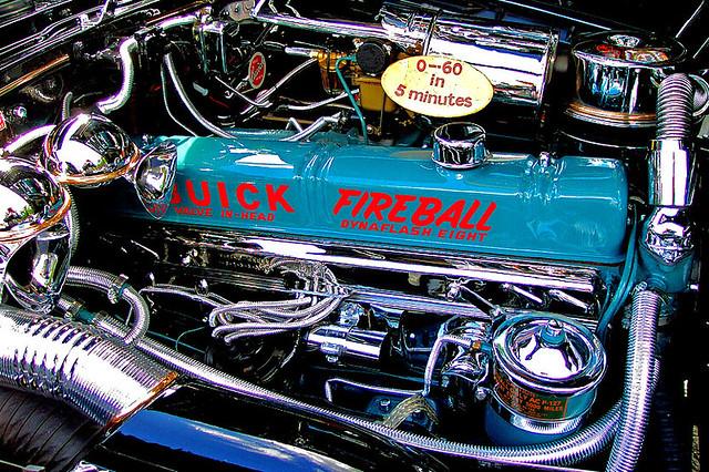 Buick Fireball | 1949 Buick Roadmaster displayed at the ...
