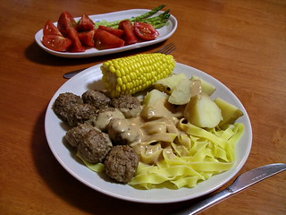 Swedish meatballs | by Blue Lotus