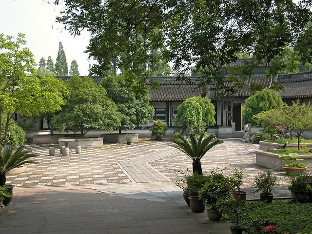 Le jardin de la maison de zhang shiming nanxun le for Le jardin 3d