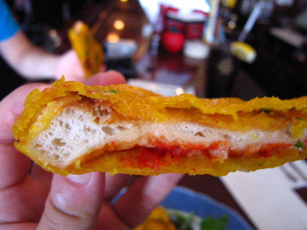 Image result for Deep-fried pizza