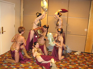Slave Leia pillow fight | by Eloketh