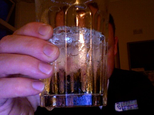 Soda water, lime and just the smallest dash of vodka | by the tartanpodcast