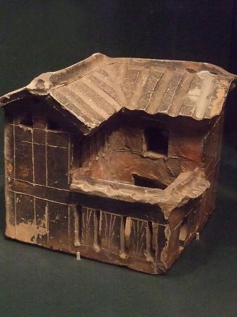 Model Of A House Glazed Earthenware Eastern Han Dynasty Ch