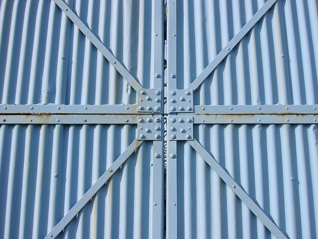 aircraft hanger door carlisle airport cumbria this aircr flickr