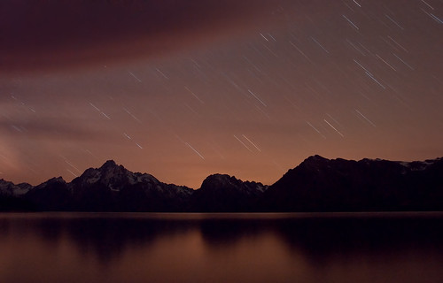 Star Trails Over Tetons | by Fort Photo
