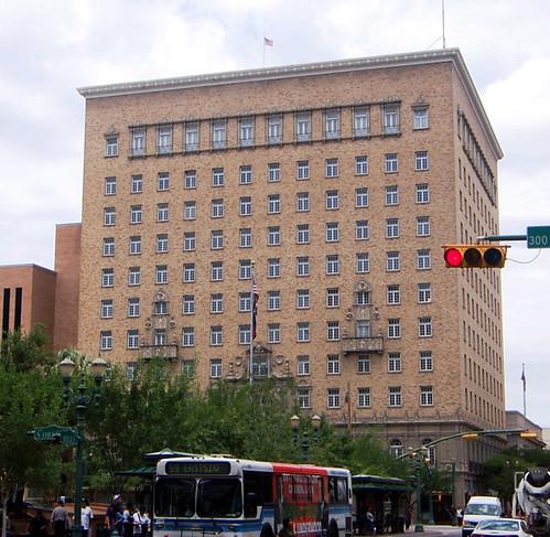El Paso Tx Cortez Building Hotel Cortez On The