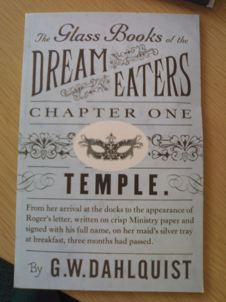 ... The Glass Books of the Dream Eaters: Chapter One   by OwenBlacker