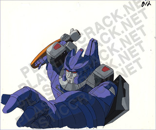 Deleted Scene Cel from Transformers The Movie | by naladahc