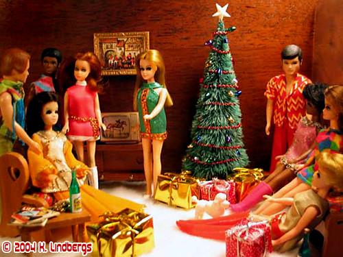 Dawn Doll Christmas Party 2004