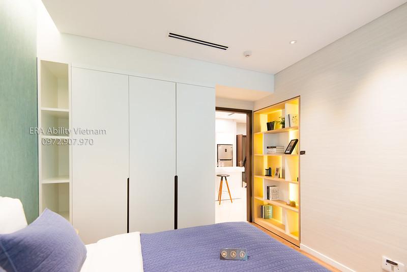 Nhà mẫu Richlane Residences Mapletree - tủ kệ