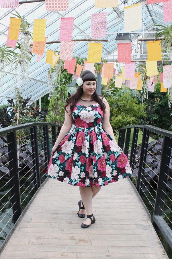 dolly and dotty elizabeth floral dress