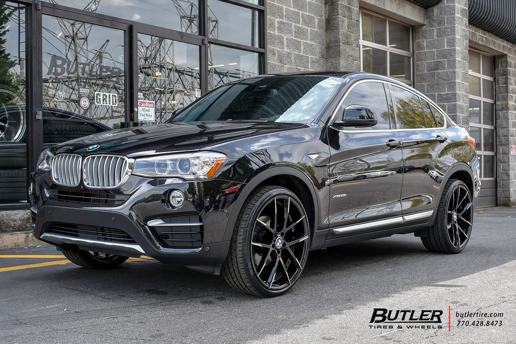 Bmw X4 With 22in Lexani Stuttgart Wheels View Additional