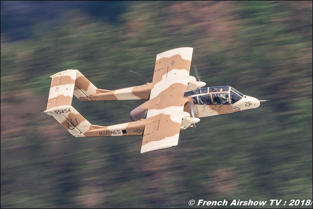 OV-10 Bronco Musée Européen de l'Aviation de Chasse de Montélimar, Alain Bes , F-AZKM , Meeting Aérien Gap-Tallard 12 mai 2018 - Alpes-Envol , Association AGATHA , Canon EOS , Sigma France , contemporary lens , Meeting Aerien 2018