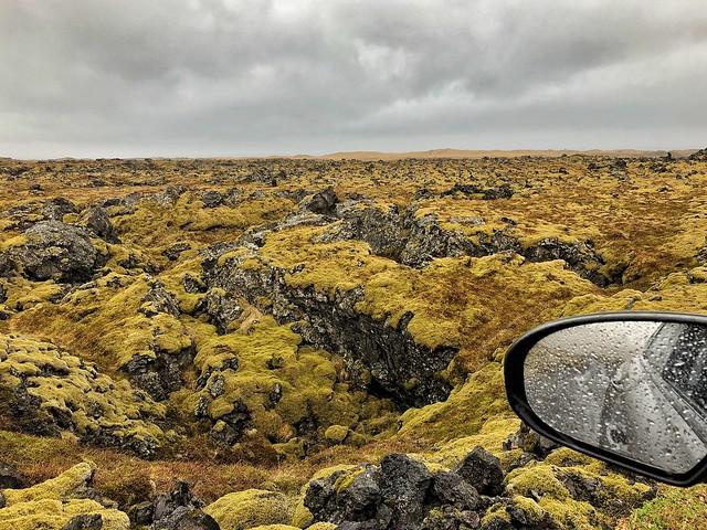 Campo de lava en el Parque Nacional Snaefellsjökull (Snaefellsnes, Islandia)