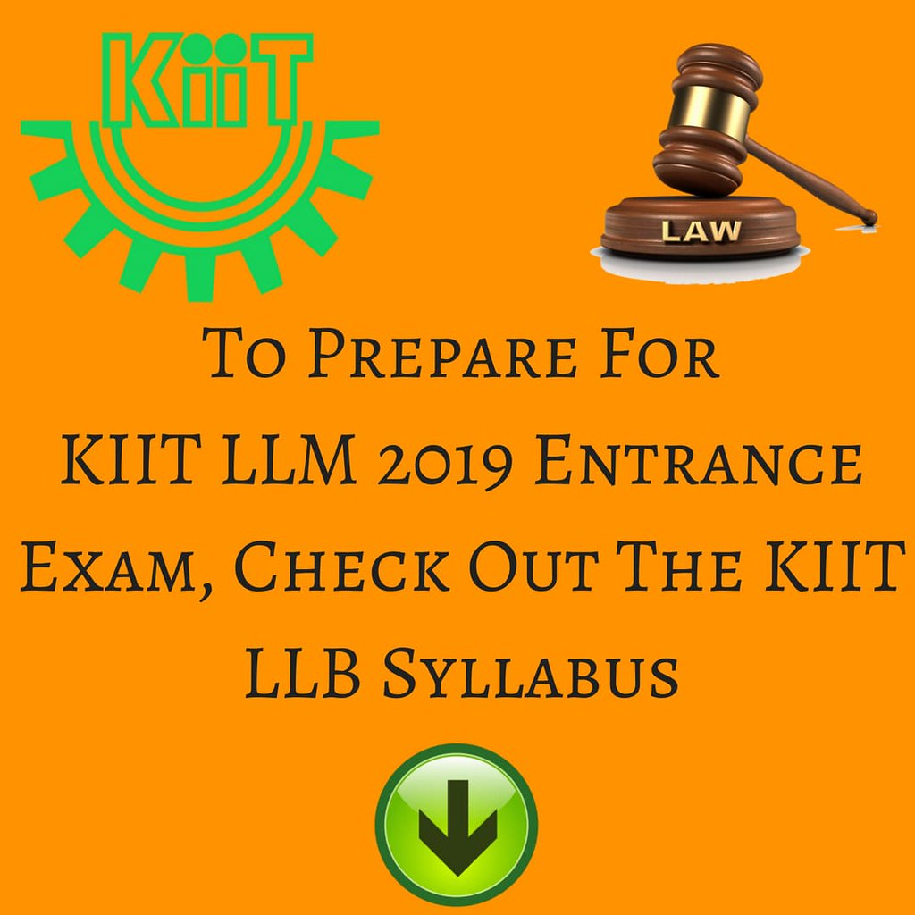How To Prepare For KIIT Law Entrance Exam 2019