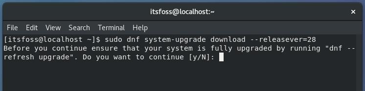 upgrade-fedora-release-terminal-1
