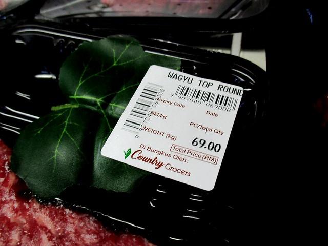 Wagyu beef, price