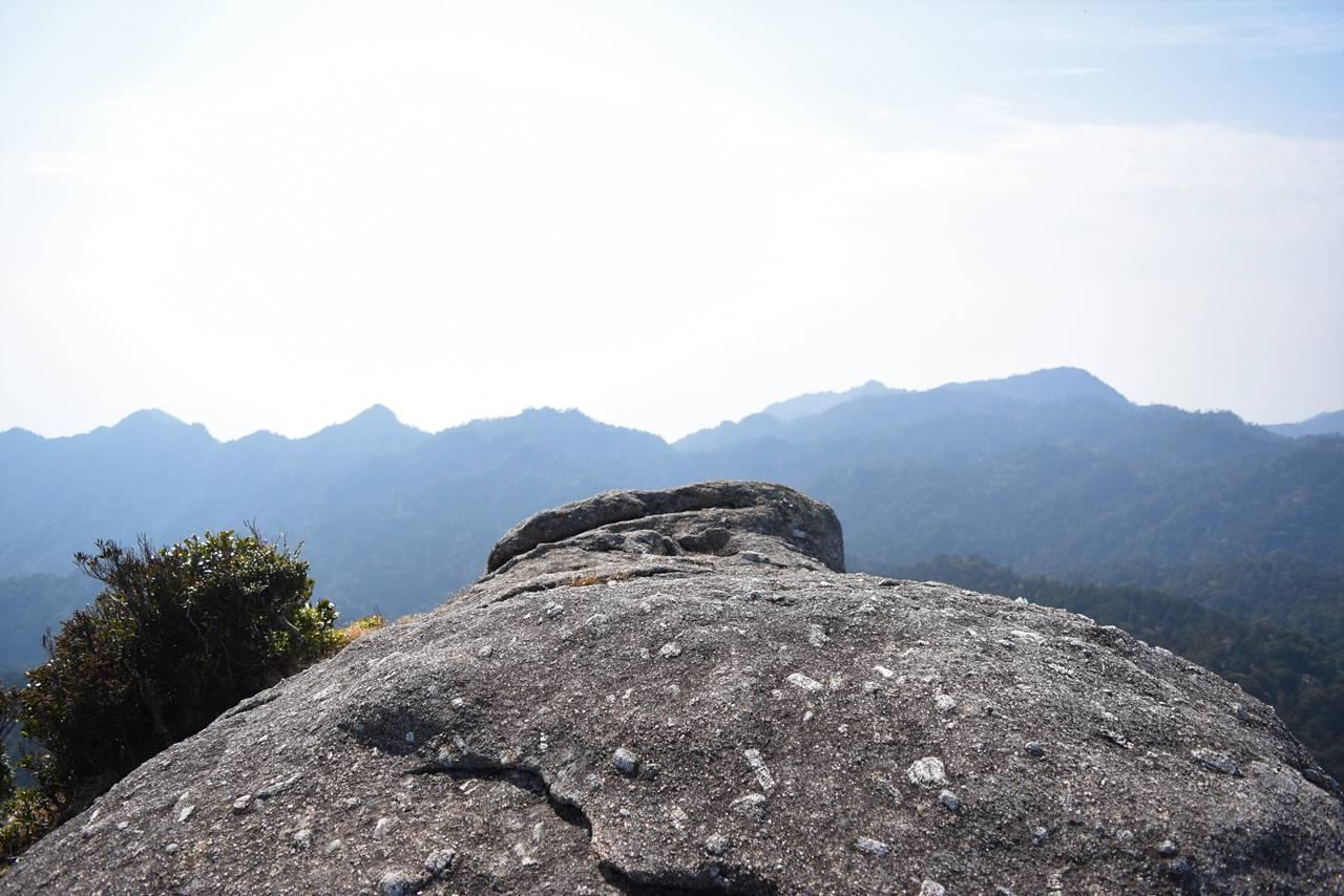 太忠岳・天柱石展望台の岩