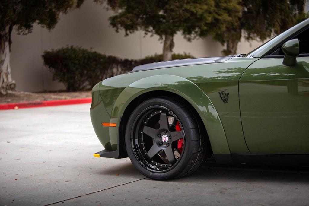 HRE Wheels | First Dodge Demon with aftermarket wheels - HRE C105 - CorvetteForum - Chevrolet ...