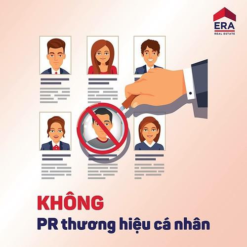 Không PR thương hiệu cá nhân
